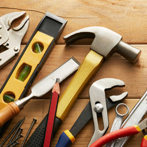 Quality workmanship tools from StrucSure Home Warranty builders