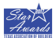 StrucSure Home Warranty Congratulates their Builder Clients Who Received the Texas Association of Builders 2017 Star Awards